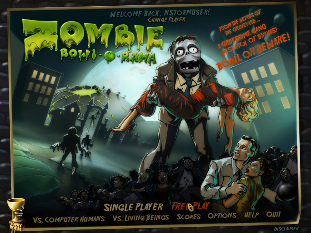Zombie Bowl-o-Rama (Steam KEY ROW Region Free)