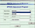 Adjustment program Epson WF-7515, WF-7015, WF-7525