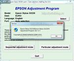 Adjustment program Epson Stylus SX230, SX235W