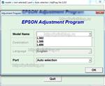 Adjustment program Epson L382, L386, L486 (EURO, CIS)
