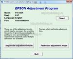 Adjustment program Epson PX-045A сброс памперса