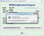 Adjustment program Epson WF-3720, WF-3725 (Сброс)