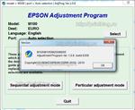 Adjustment program Epson M100, M105, M200, M205 (Cброс)