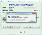 Adjustmen program Epson WF-3620, WF-3640