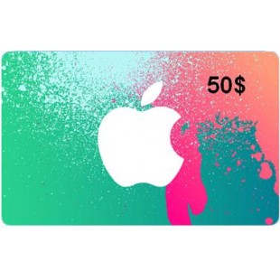 iTunes Gift Card $50 USA (Photo)