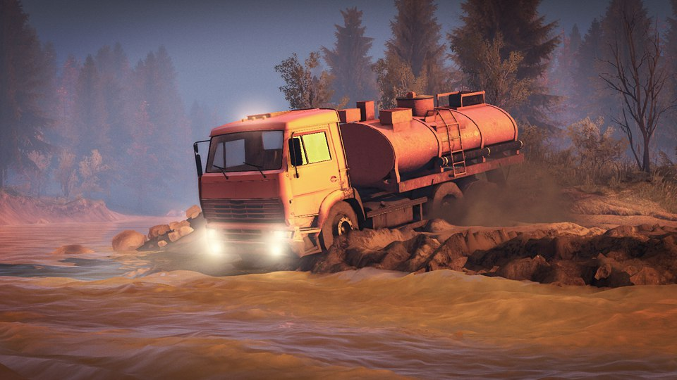 Spintires ( Steam key /Ru-CIS )