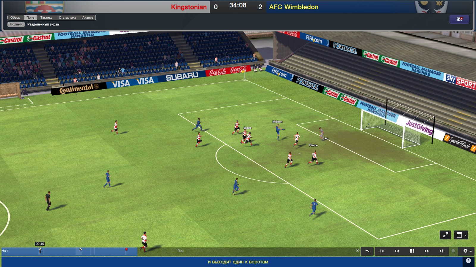 Football Manager 2014  (Steam Gift ROW)