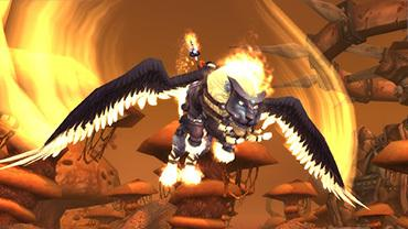 WoW Mount: WINGED GUARD (Winged Guardian)