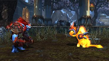 WoW Pet: Magma kitten (Cinder Kitten) GLOBAL
