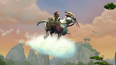 WoW Mount: RAPID VETROROG (Swift Windsteed)