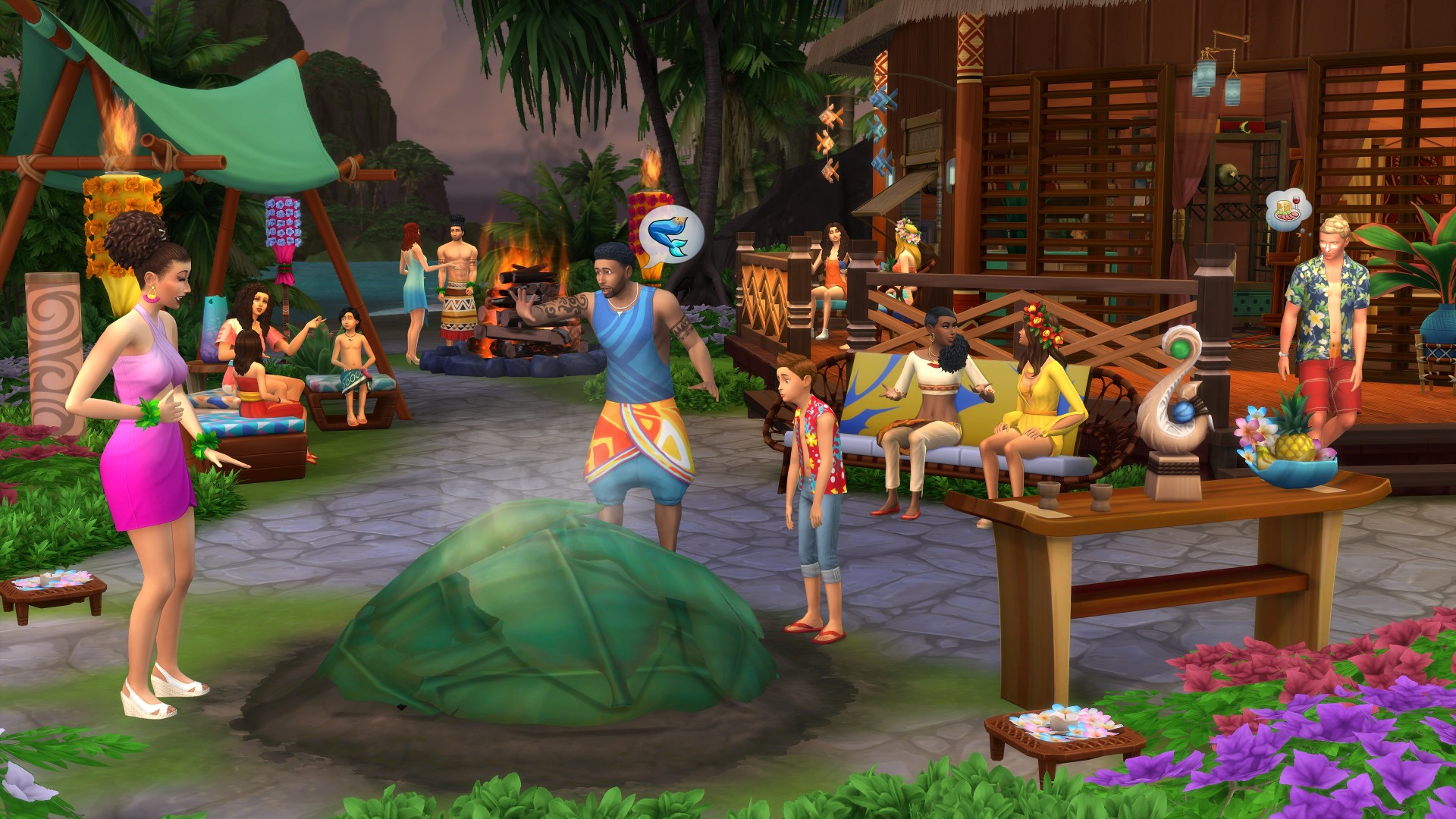 THE SIMS 4 ISLAND LIVING | WARRANTY | ORIGIN 💚