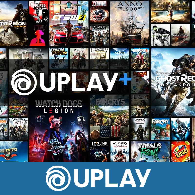 💚 UPLAY+ PLUS ACCESS | ALL GAMES | WARRANTY