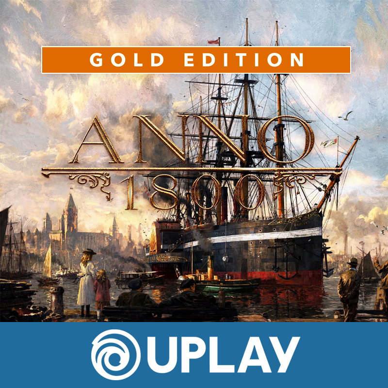 💚 ANNO 1800 GOLD | WARRANTY | UPLAY