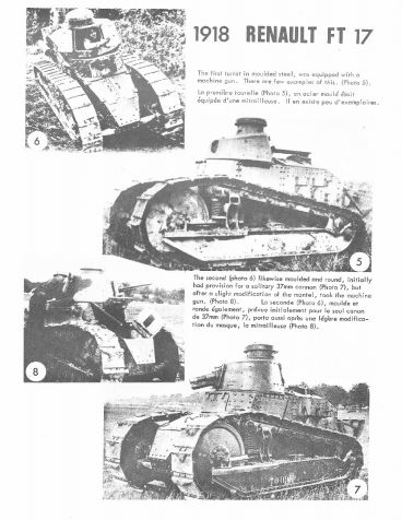 French Armoured Fighting Vehicles, Part 1