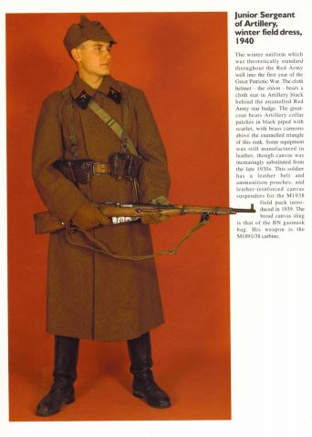 Book: Red Army Uniforms in World War II