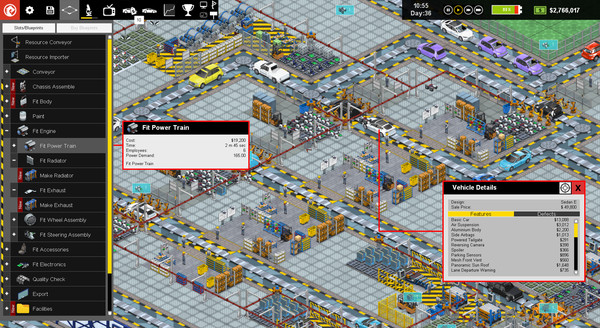 Production Line : Car factory simulation (RU/UA/KZ/CIS)