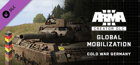 Arma 3 Global Mobilization - Cold War Germany (RU/CIS)