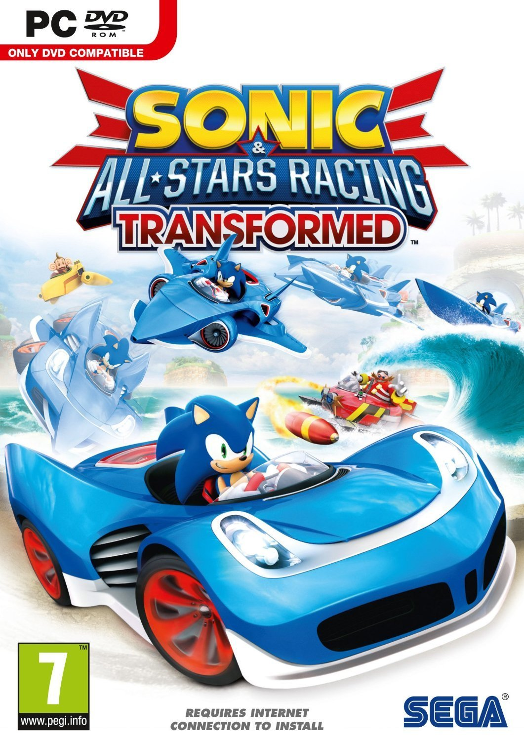 Sonic & All-Stars Racing Transformed (Steam Gift/ROW)