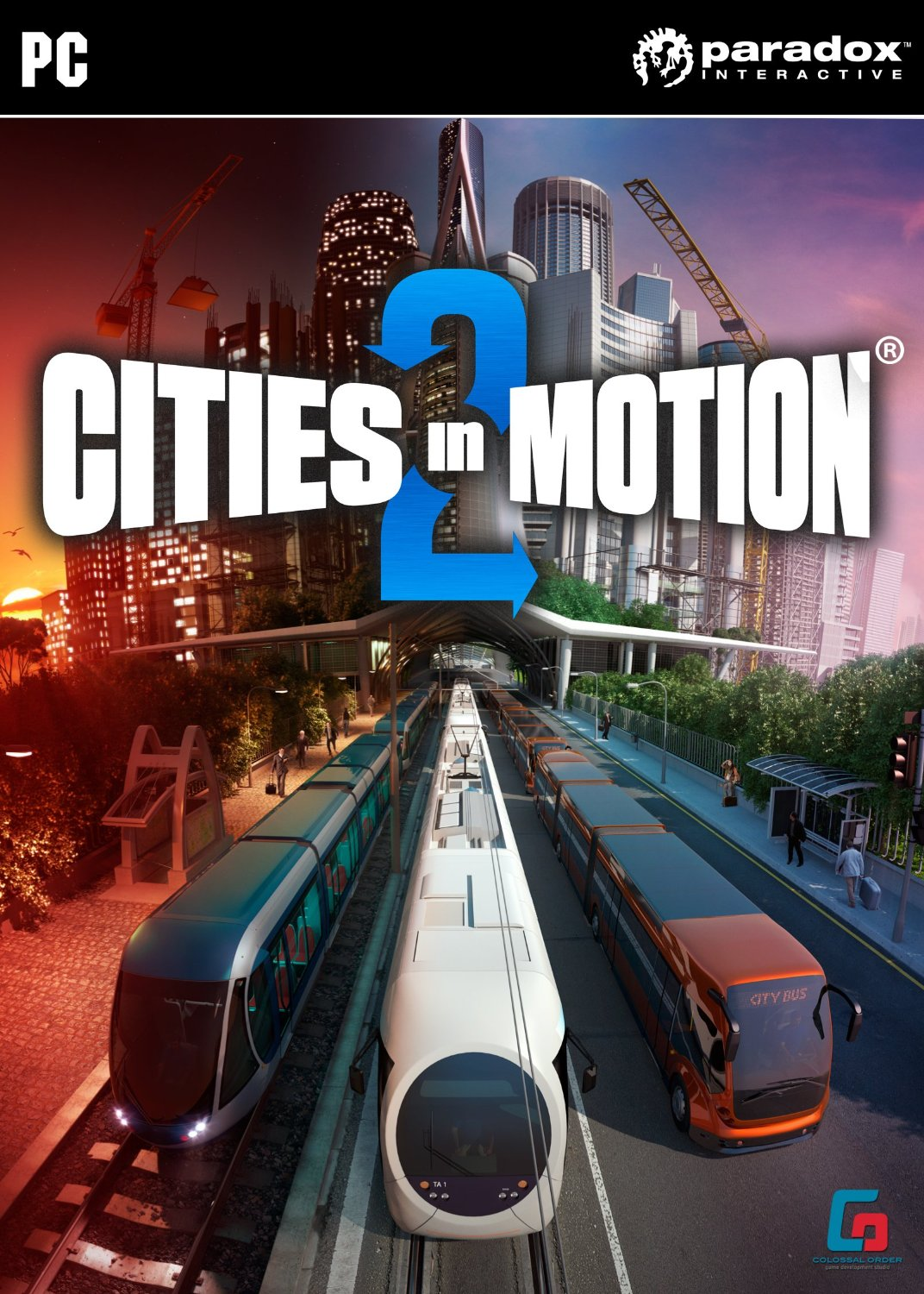 Cities in Motion 2 (Steam Key / Region Free) + Bonus