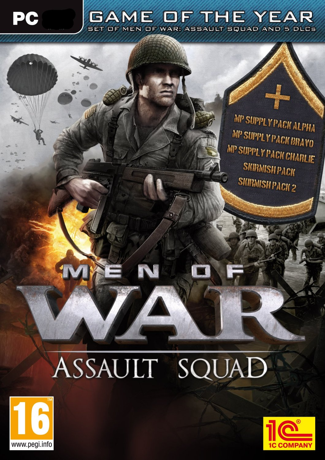 Men of War Assault Squad GOTY (Steam Key / Region Free)