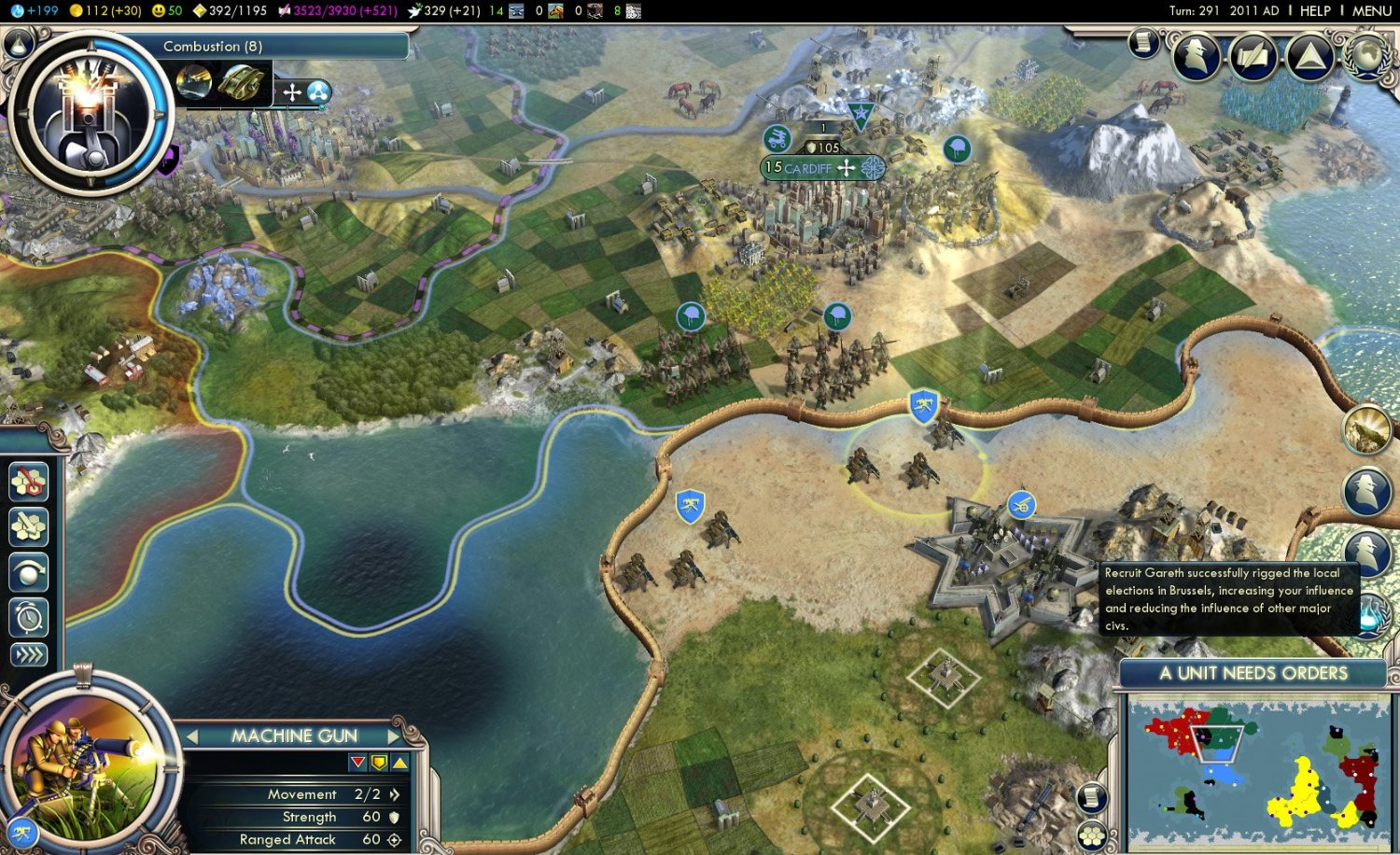 Civilization V - Gods and Kings (Steam Gift / ROW)