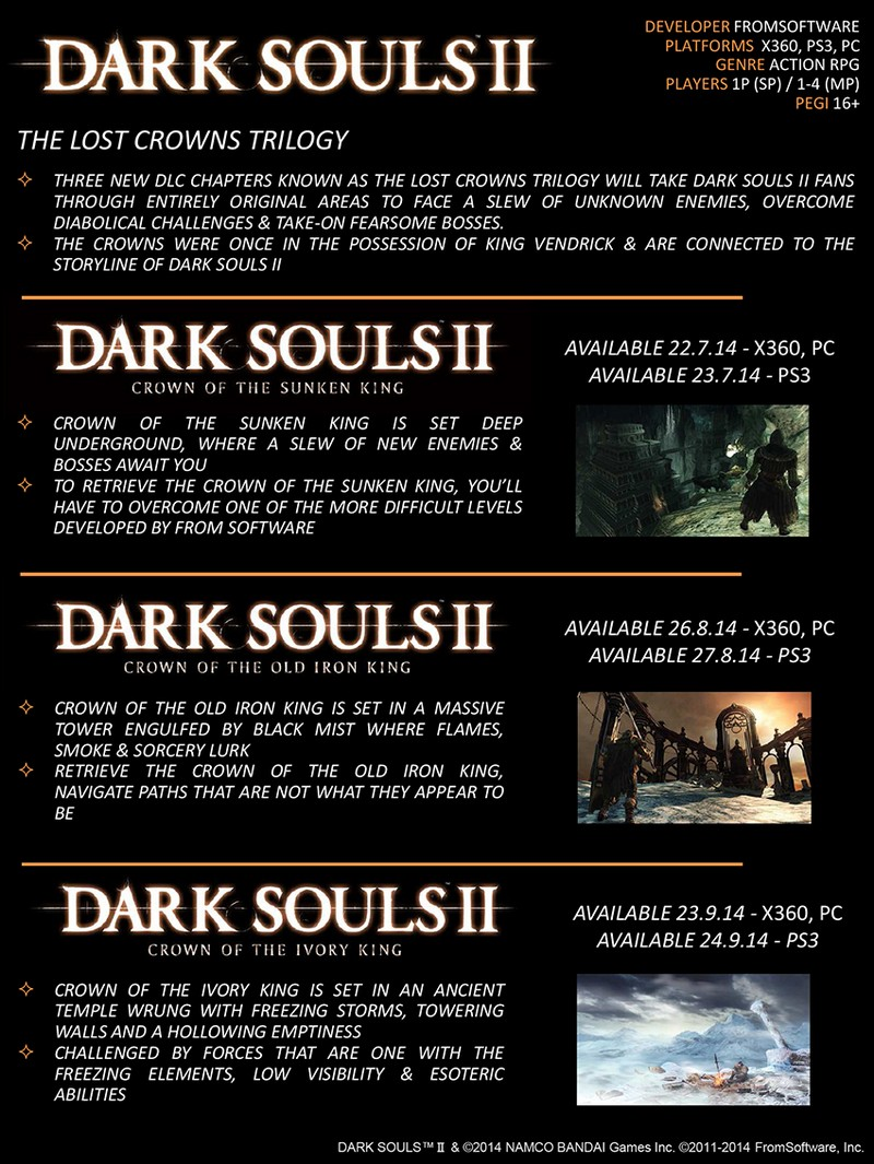 Dark Souls II 2 - Season Pass (Steam Key / RU+CIS)