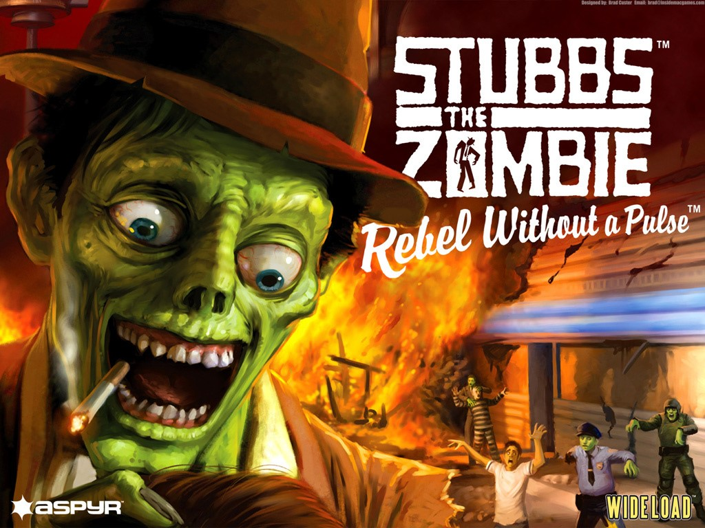 Stubbs the Zombie in Rebel Without a Pulse ROW (Steam)