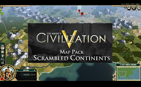 Civilization V 5: Scrambled Continents DLC (Steam Key)