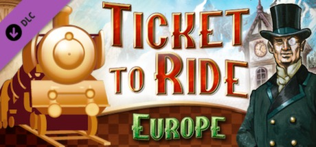 Ticket to Ride Europe DLC (Steam Key / Region Free)