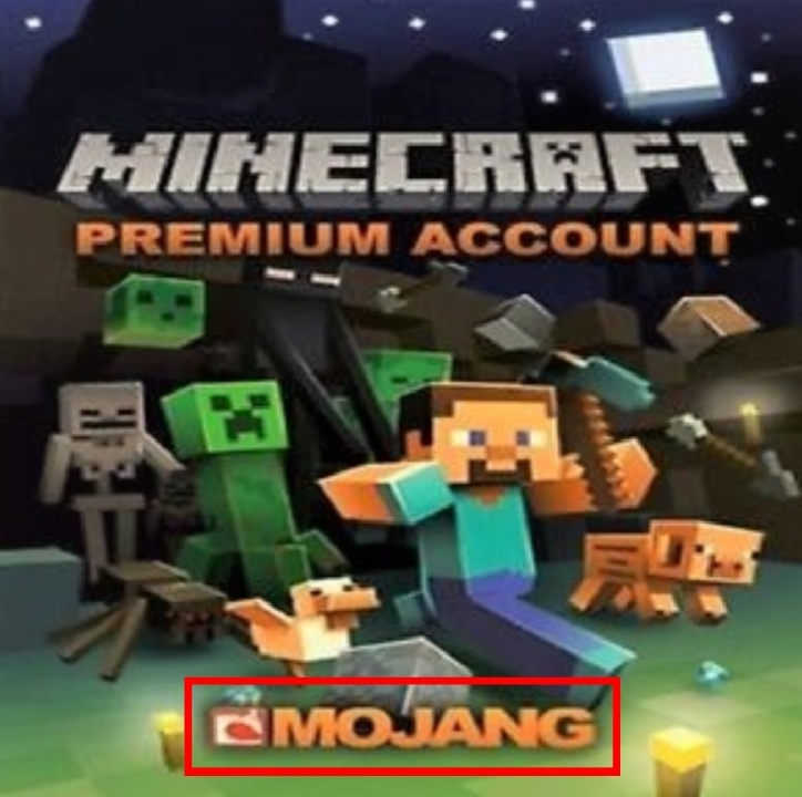 Minecraft Premium Account + Transaction ID  (with mail)
