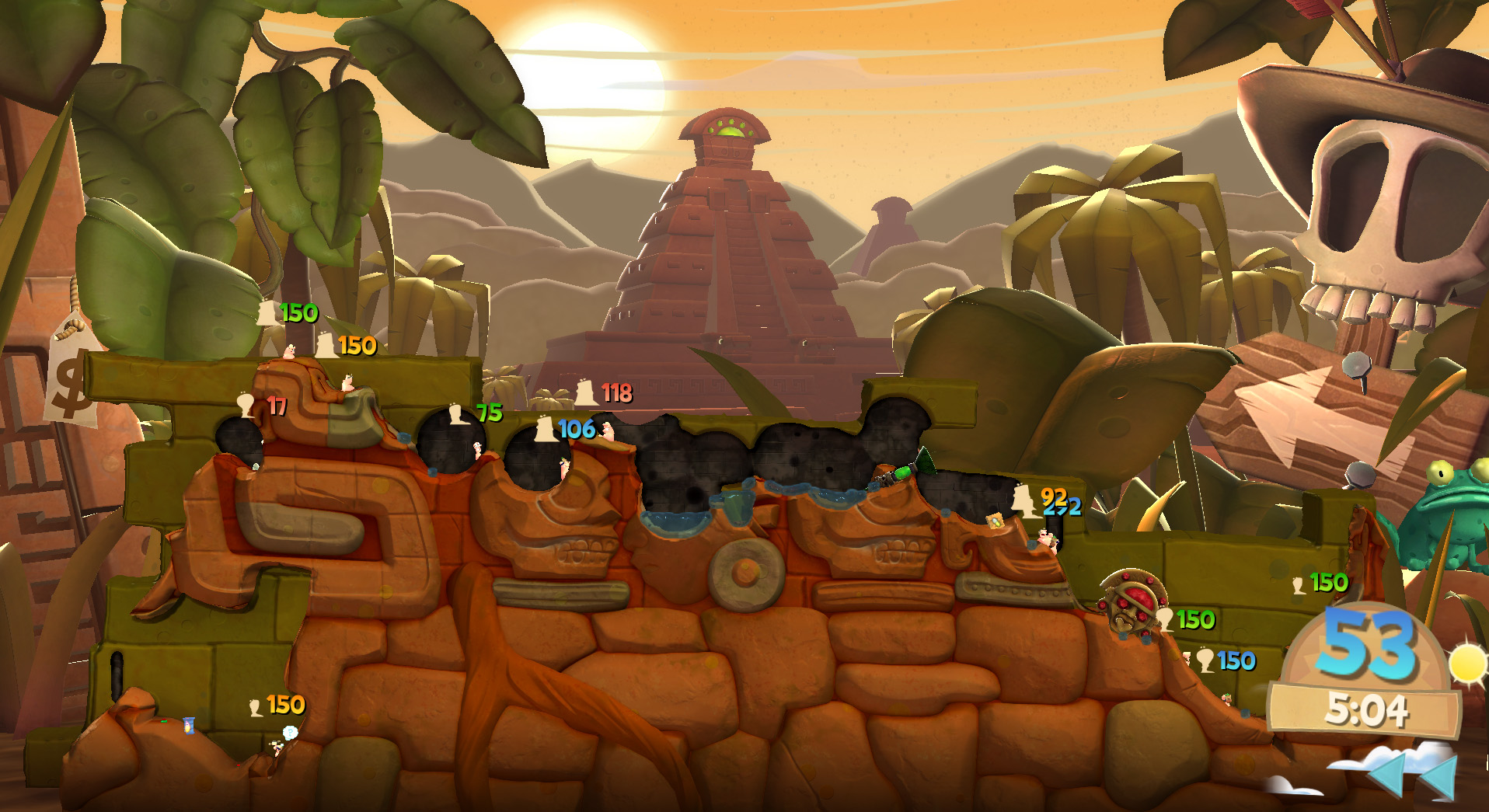 Worms Clan Wars  (Steam Gift/ROW/Region Free) HB link