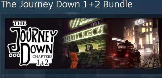 The Journey Down 1 + 2 Bundle (Steam Key / Region Free)