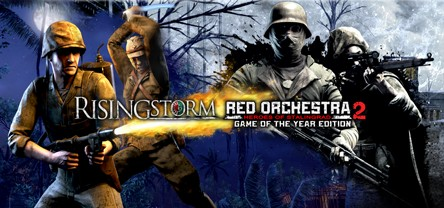 Red Orchestra 2 + Rising Storm(Steam Key / Region Free)