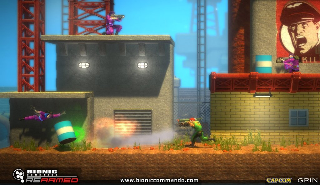 Bionic Commando: Rearmed (Steam GIFT / RU + CIS) HBlink