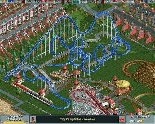 RollerCoaster Tycoon: Deluxe (Steam Gift / ROW) HB link