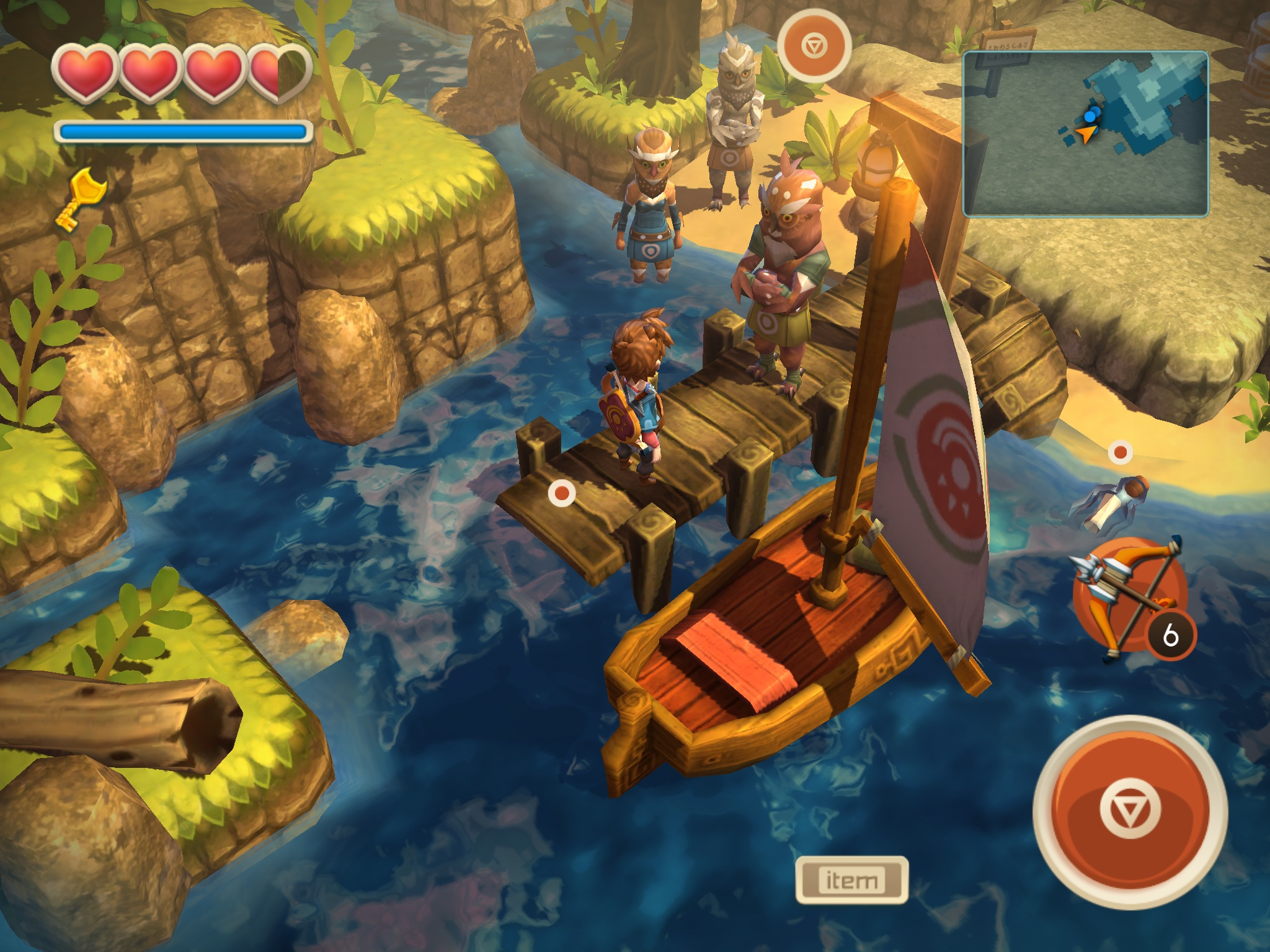 Oceanhorn: Monster of Uncharted Seas (Steam Gift / ROW)