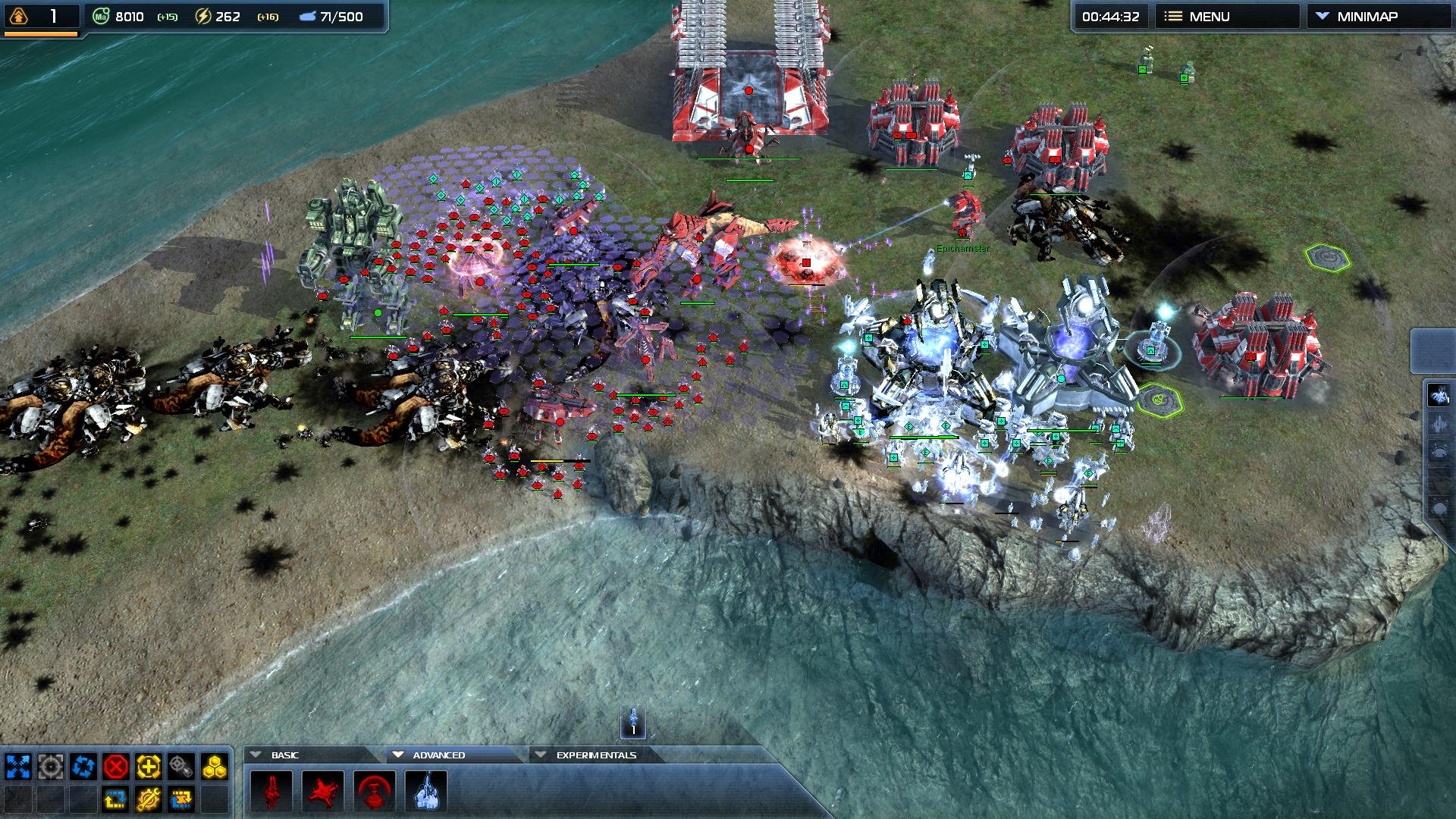 Supreme Commander 2 (Steam Key / ROW / Region Free)