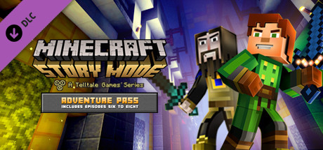 Minecraft: Story Mode - Adventure Pass  Steam Key / ROW