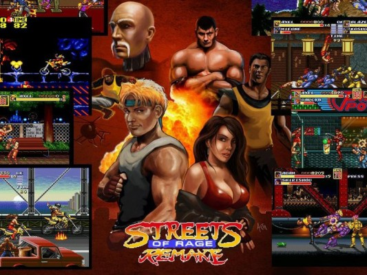 Streets of Rage  (Steam Key / ROW / Region Free)