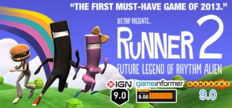 BIT.TRIP Presents... Runner2... + DLC (Steam Key / ROW)