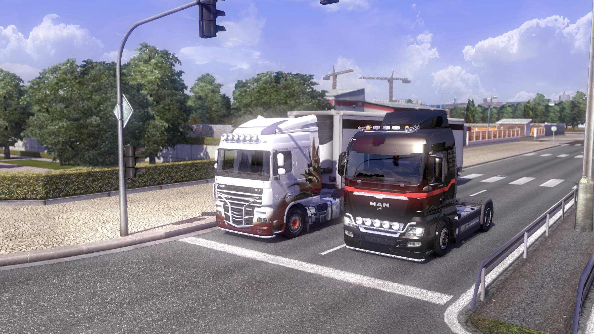 Euro Truck Simulator 2 (Steam Key/Region Frее)