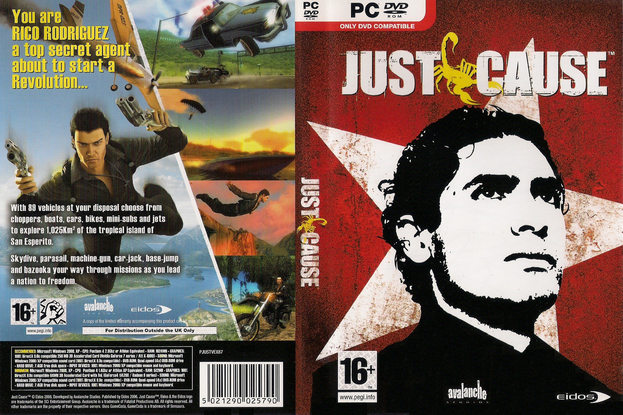 Just Cause  (Steam Key / ROW / Region Free)