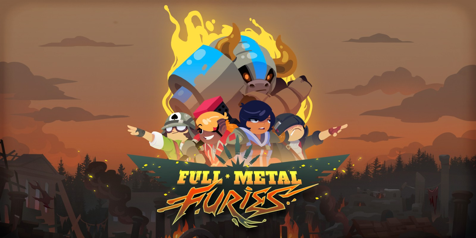 Full Metal Furies  (Steam Key / ROW / Region Free)