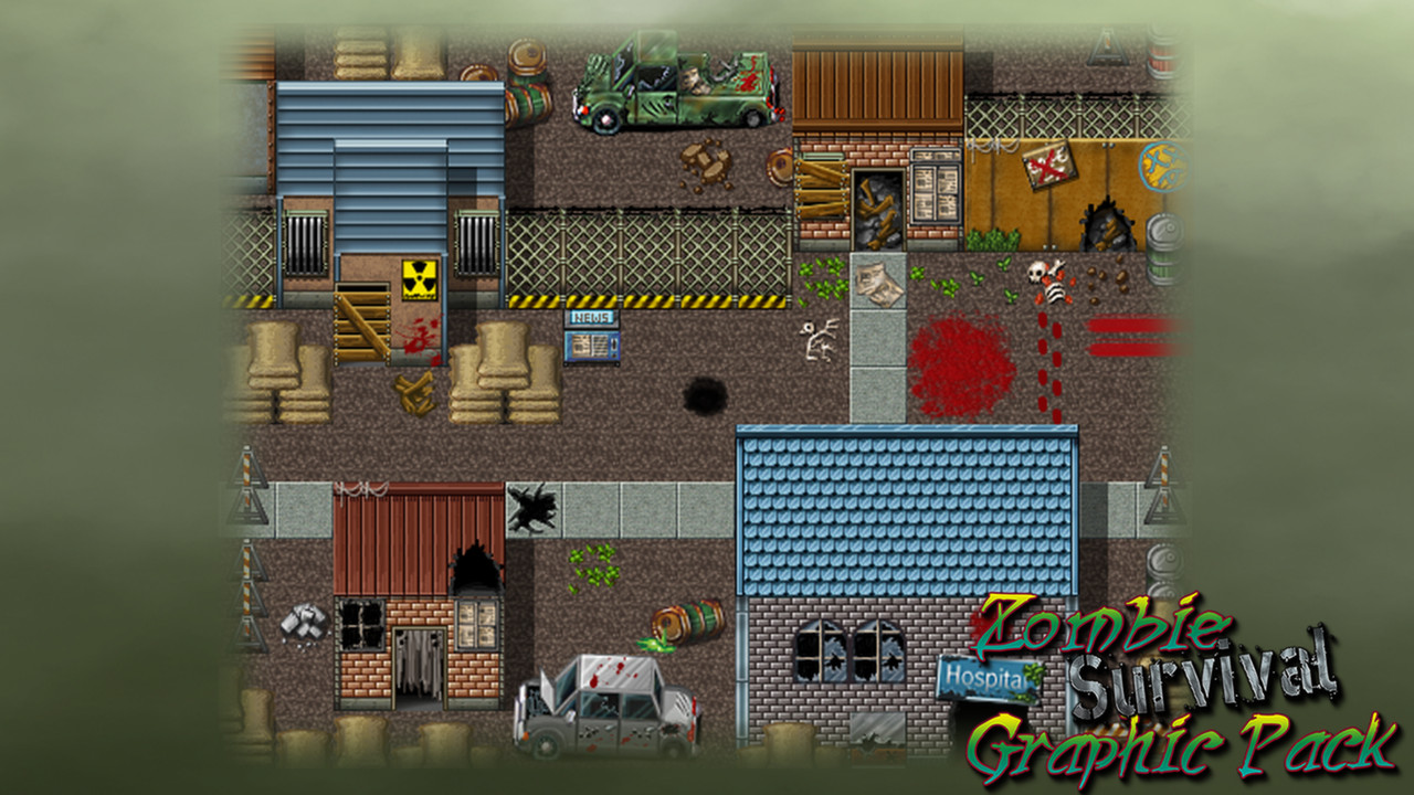 RPG Maker - Zombie Survival Graphic Pack (Steam Key)