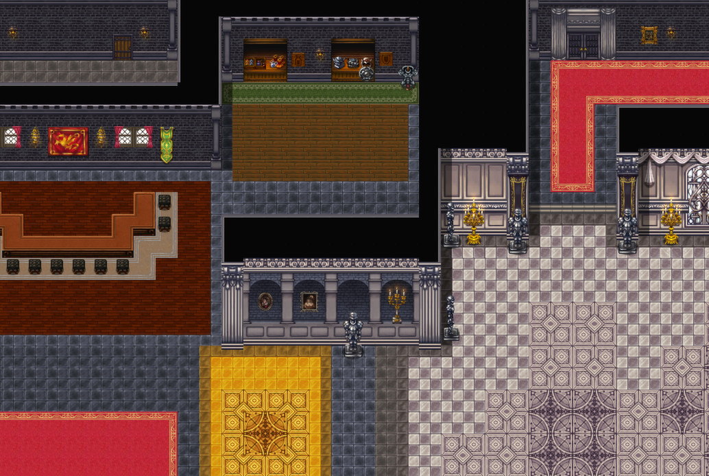 RPG Maker - Royal Tileset Pack (Steam Key/Region Frее)