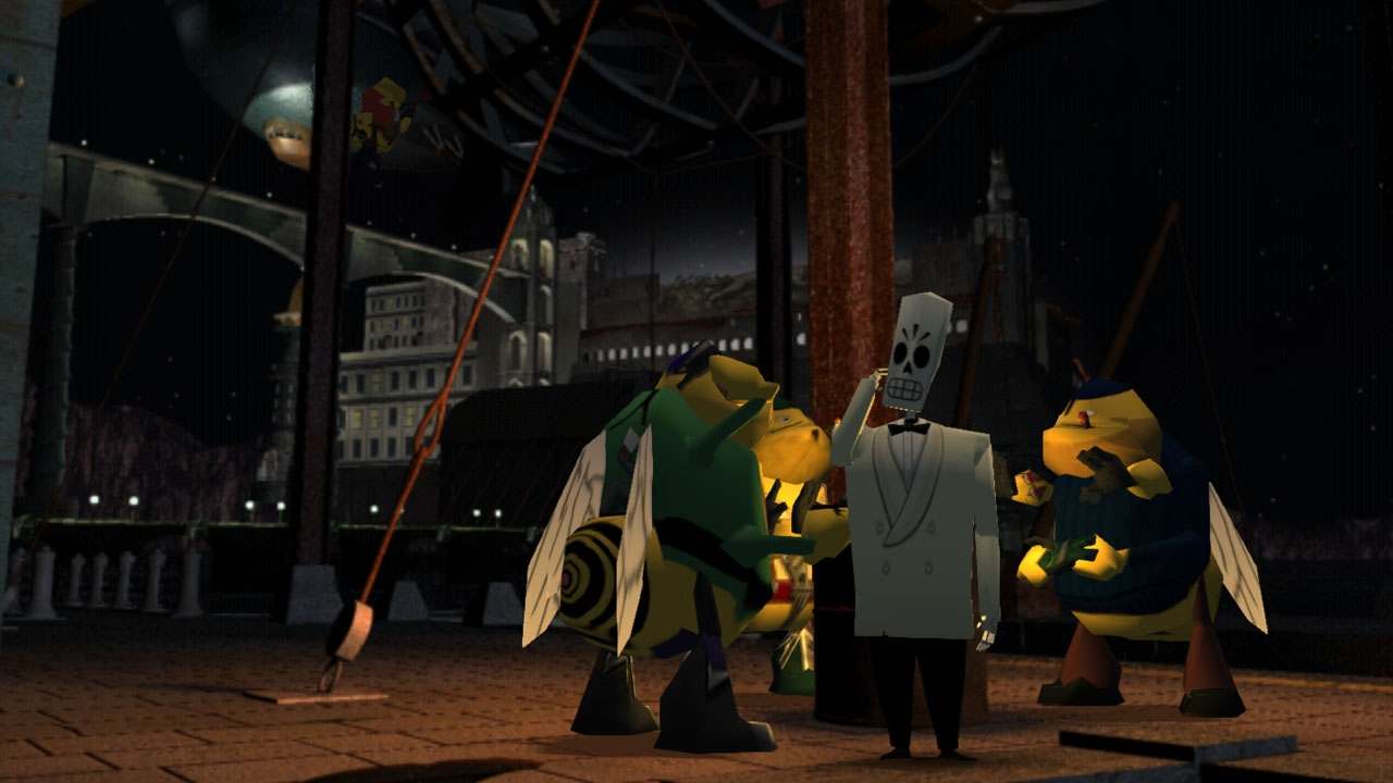 Grim Fandango Remastered (Steam Gift/Region Free)HBlink