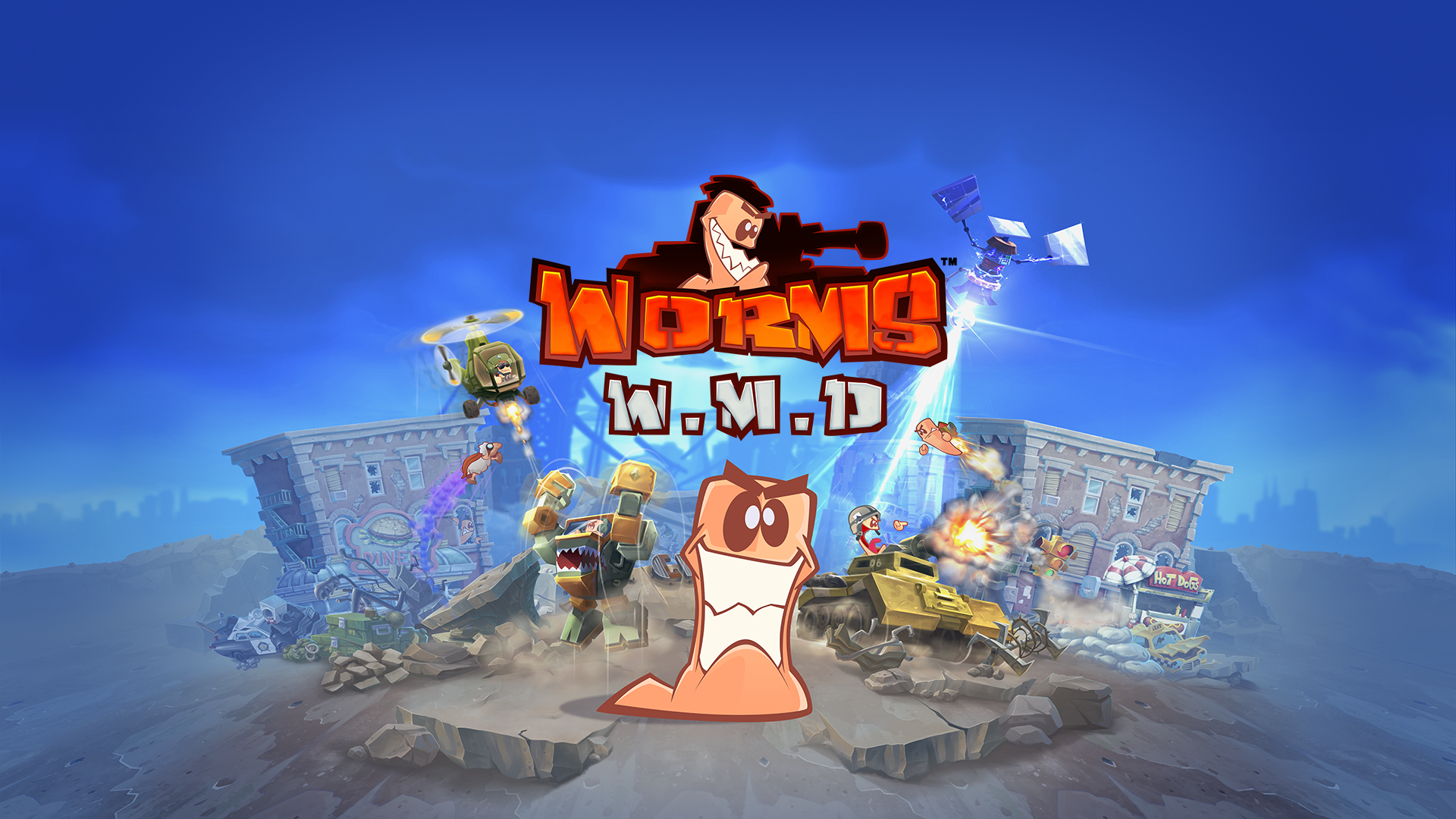 Worms W.M.D  (Steam Key / RU / CIS)