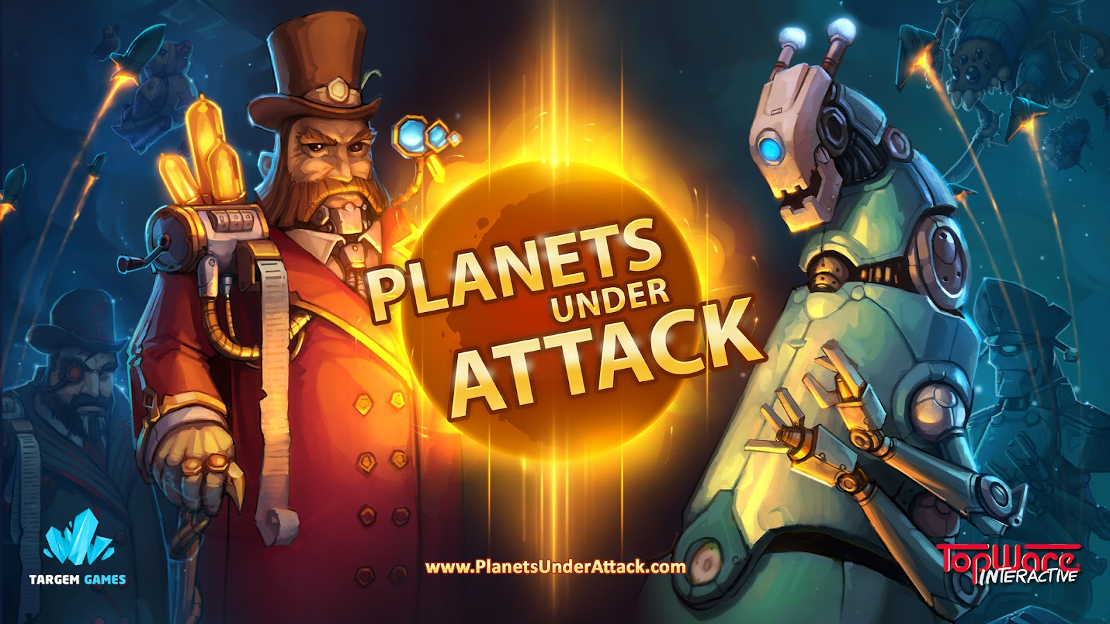 Planets Under Attack (Steam Key / Region Free)