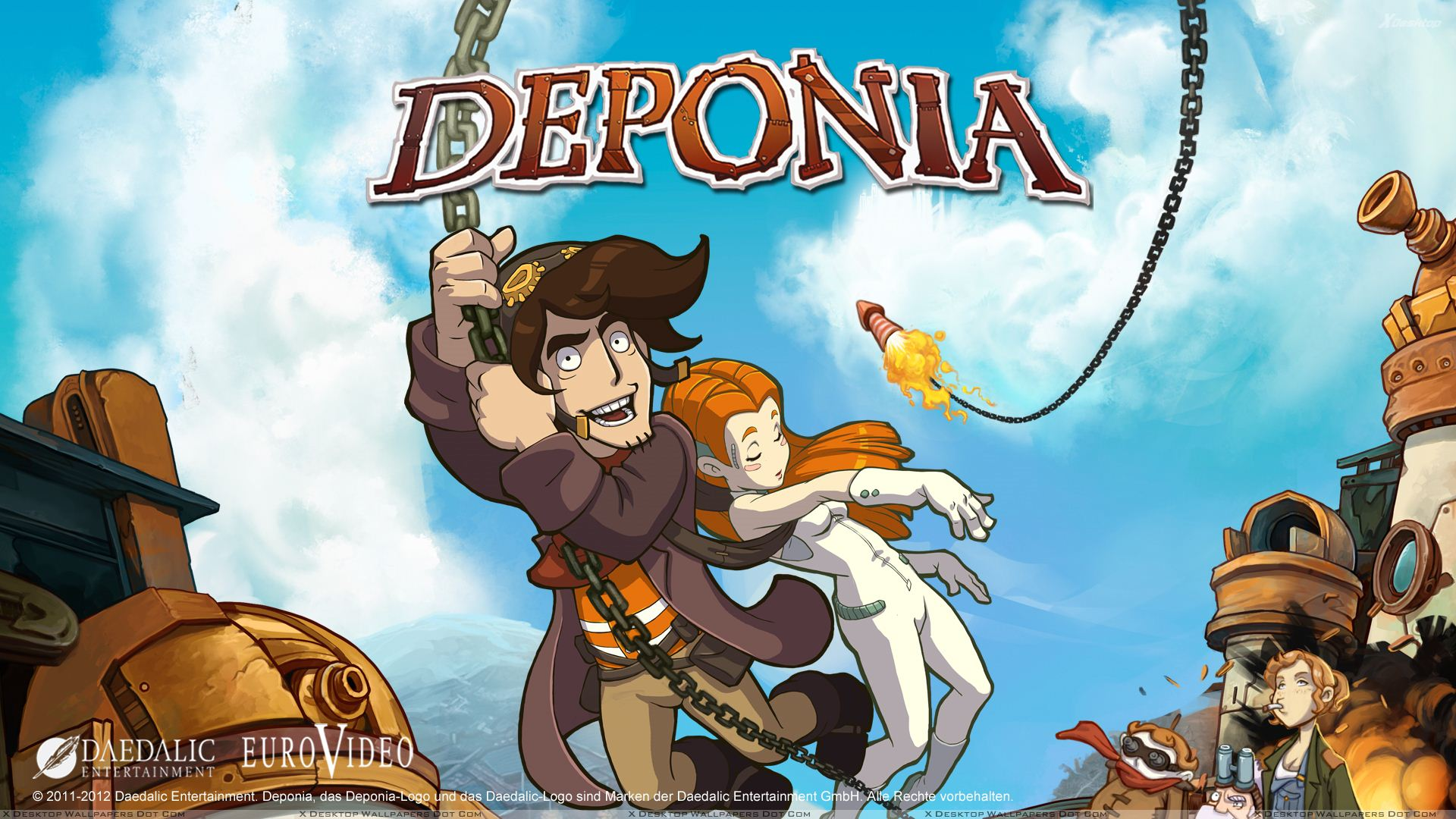 Deponia  (Steam Key / ROW / Region Free)