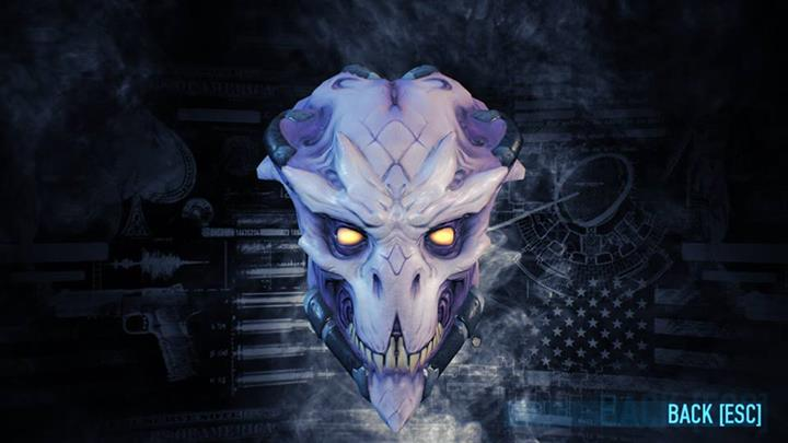 PAYDAY 2 Orc and Crossbreed Masks(Steam E3 Gift)HB link